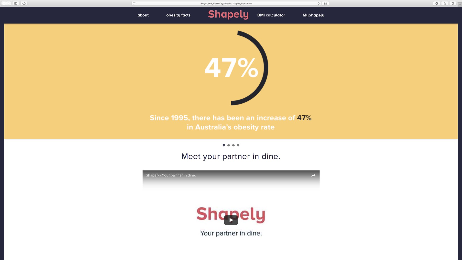 Shapely is an online diet coach for women that creates personalised meal plans for you that if followed will help you lose weight